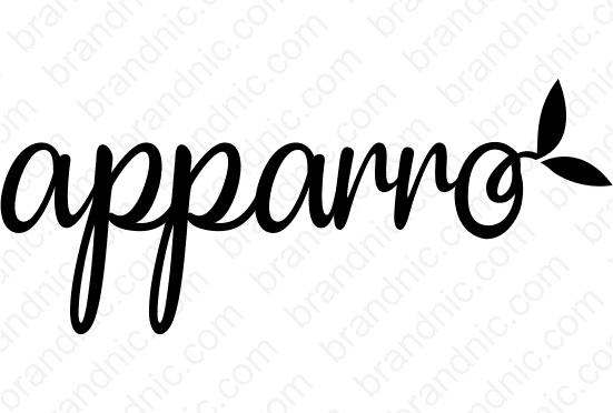 Apparro.com - Buy this brand name at Brandnic.com