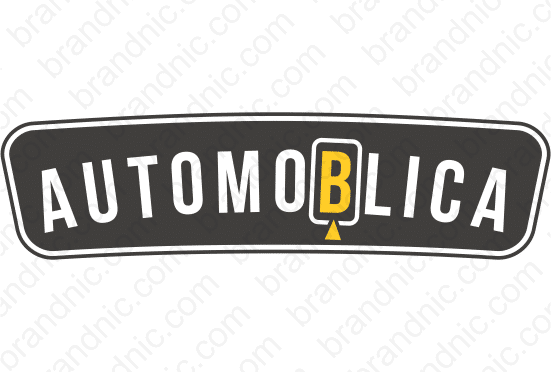 Automoblica.com - Buy this brand name at Brandnic.com