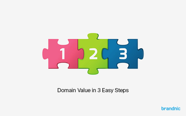 Domain value in 3 steps