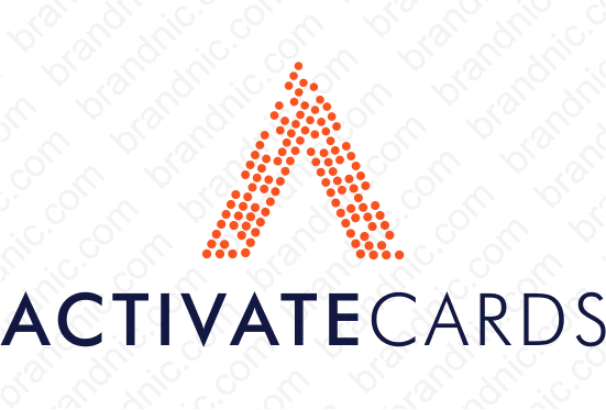 Activatecards.com - Buy this brand name at Brandnic.com
