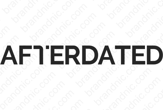 Afterdated.com - Buy this brand name at Brandnic.com
