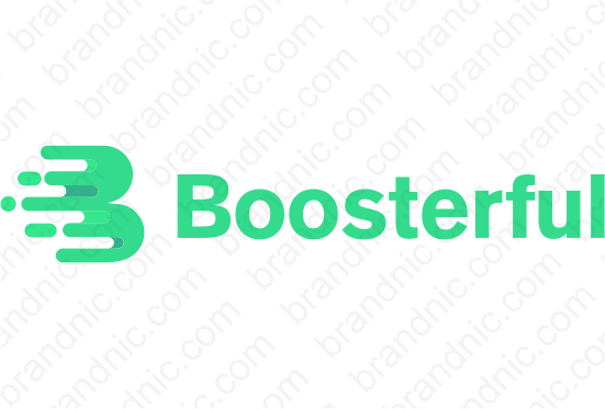 Boosterful.com - Buy this brand name at Brandnic.com