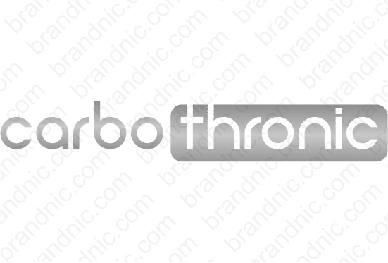 Carbothronic.com - Buy this brand name at Brandnic.com