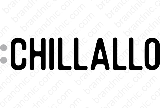 Chillallo.com - Buy this brand name at Brandnic.com