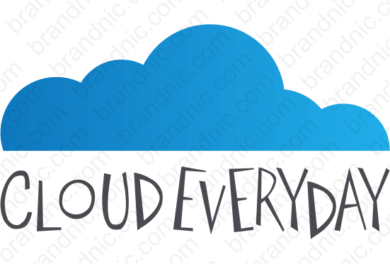 Cloudeveryday.com - Buy this brand name at Brandnic.com