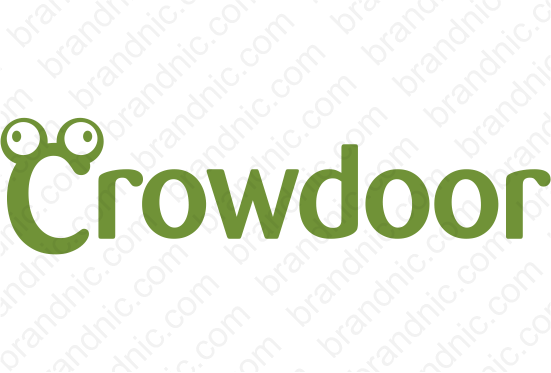 Crowdoor.com - Buy this brand name at Brandnic.com