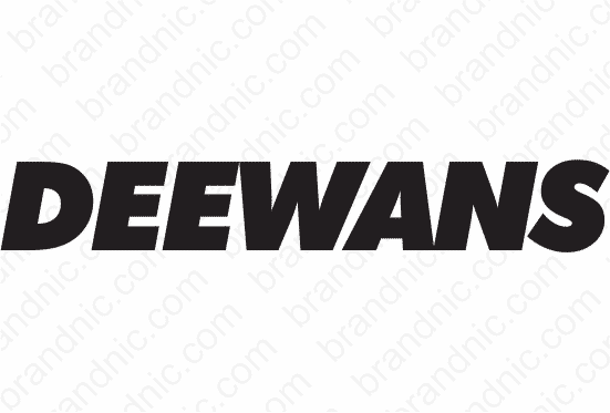 Deewans.com - Buy this brand name at Brandnic.com