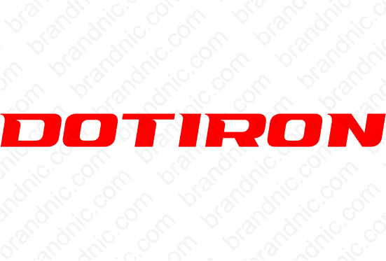 Dotiron.com - Buy this brand name at Brandnic.com
