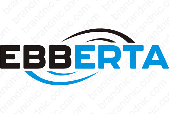 Ebberta.com - Buy this brand name at Brandnic.com