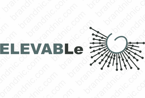 Elevable.com - Buy this brand name at Brandnic.com