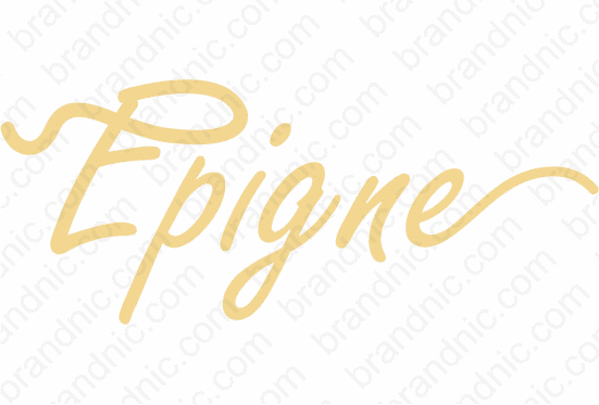 Epigne.com - Buy this brand name at Brandnic.com