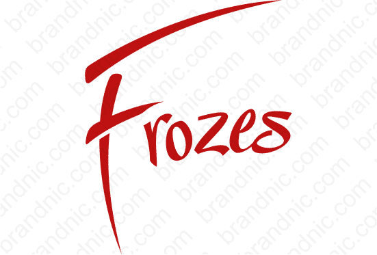 Frozes.com - Buy this brand name at Brandnic.com