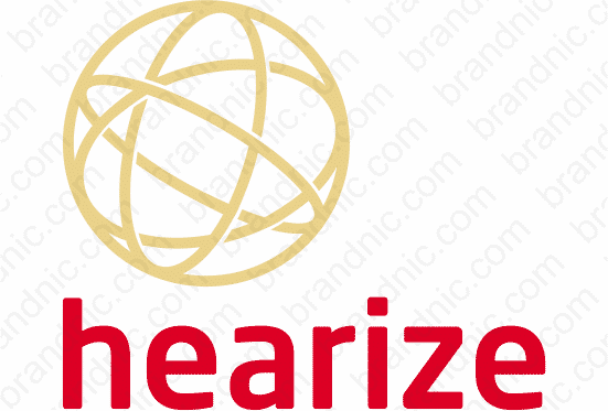 Hearize.com - Buy this brand name at Brandnic.com