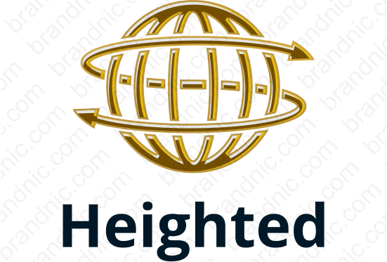 Heighted.com - Buy this brand name at Brandnic.com