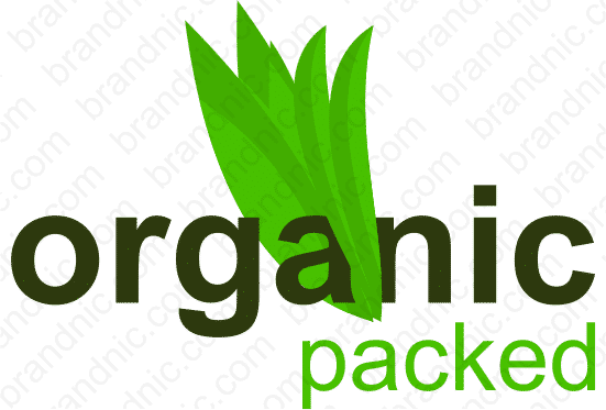 Organicpacked.com - Buy this brand name at Brandnic.com