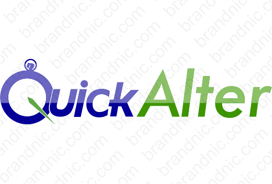 Quickalter.com - Buy this brand name at Brandnic.com