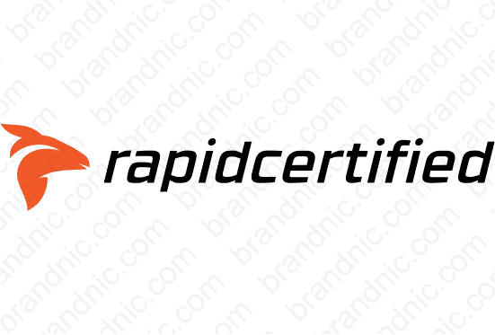 Rapidcertified.com - Buy this brand name at Brandnic.com