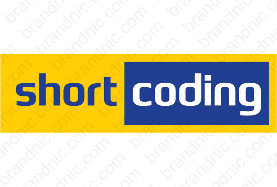 Shortcoding.com - Buy this brand name at Brandnic.com