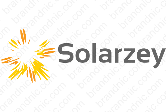Solarzey.com - Buy this brand name at Brandnic.com
