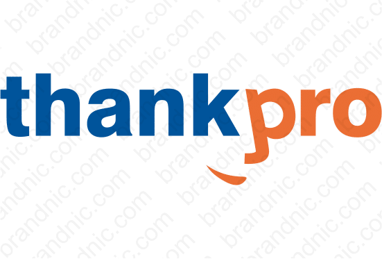 Thankpro.com - Buy this brand name at Brandnic.com