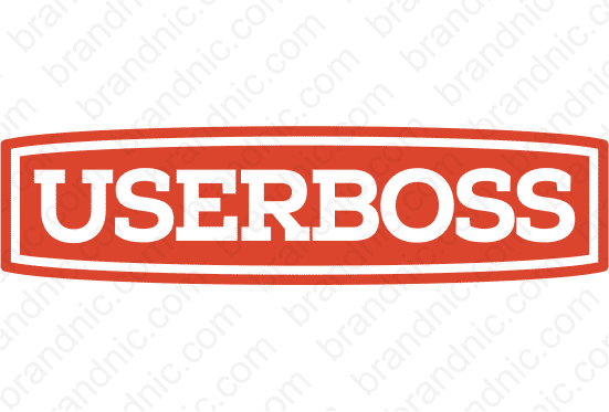 Userboss.com - Buy this brand name at Brandnic.com