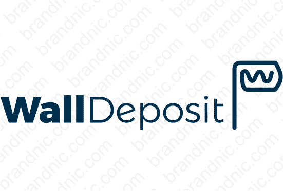 Walldeposit.com - Buy this brand name at Brandnic.com