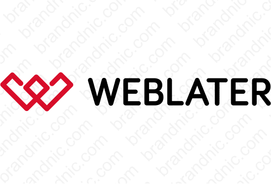 Weblater.com - Buy this brand name at Brandnic.com