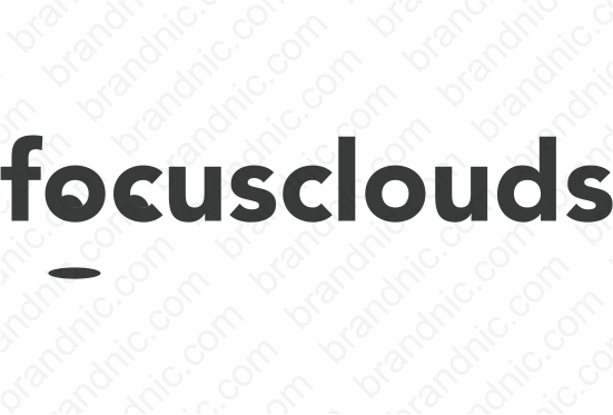 Focusclouds.com - Buy this brand name at Brandnic.com
