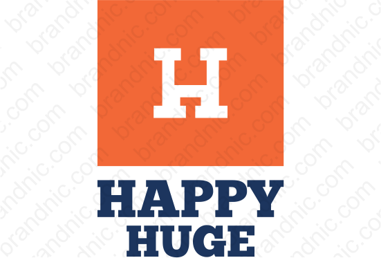 Happyhuge.com - Buy this brand name at Brandnic.com