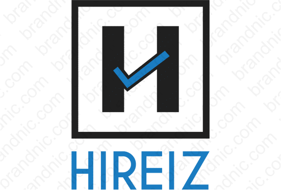 Hireiz.com - Buy this brand name at Brandnic.com