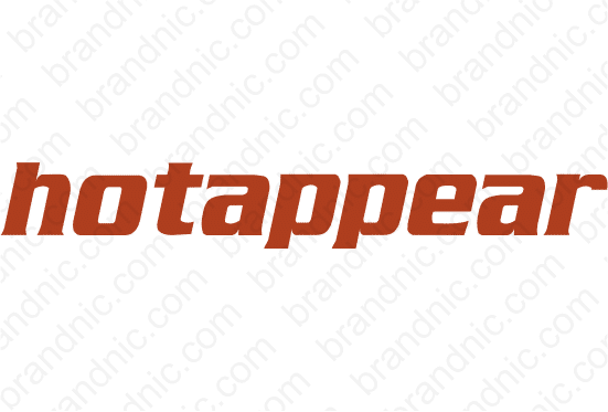 Hotappear.com - Buy this brand name at Brandnic.com