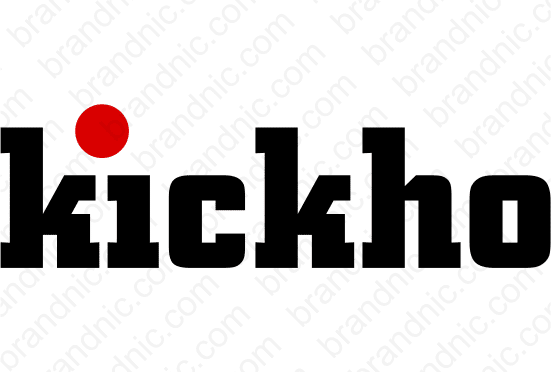 Kickho.com - Buy this brand name at Brandnic.com