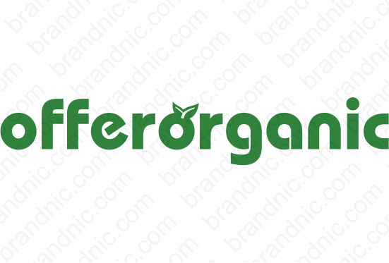 Offerorganic.com - Buy this brand name at Brandnic.com
