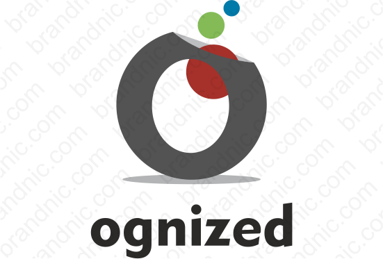 Ognized.com - Buy this brand name at Brandnic.com