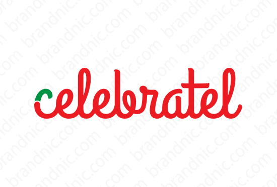 Celebratel.com - Buy this brand name at Brandnic.com