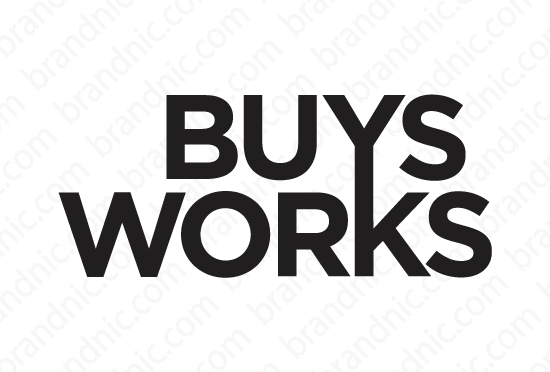 Buysworks.com - Buy this brand name at Brandnic.com