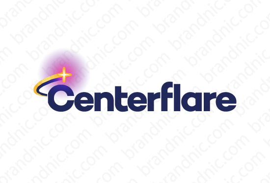 Centerflare.com - Buy this brand name at Brandnic.com