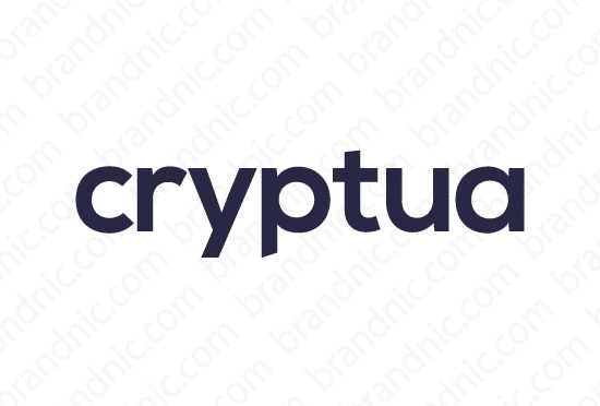 Cryptua.com - Buy this brand name at Brandnic.com