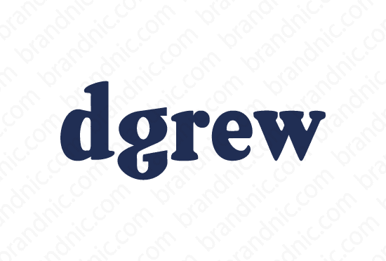 Dgrew.com - Buy this brand name at Brandnic.com
