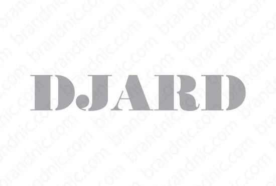 Djard.com - Buy this brand name at Brandnic.com