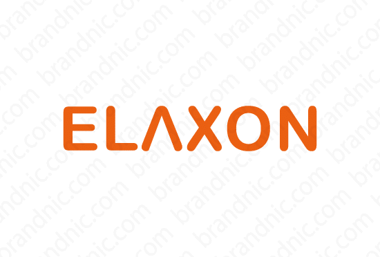 Elaxon.com - Buy this brand name at Brandnic.com