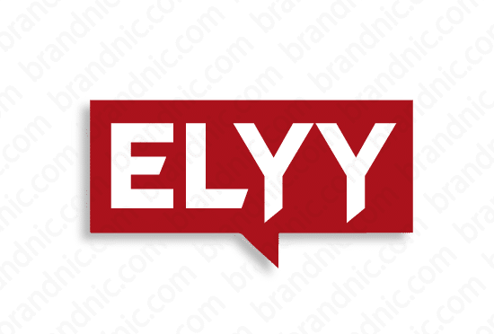 Elyy.com - Buy this brand name at Brandnic.com