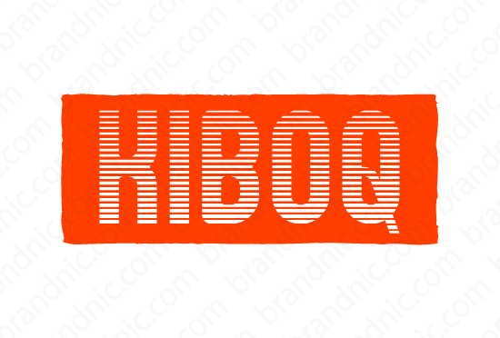 Kiboq.com - Buy this brand name at Brandnic.com