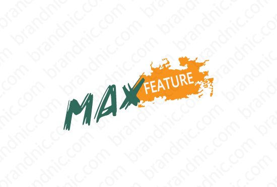 Maxfeature.com - Buy this brand name at Brandnic.com