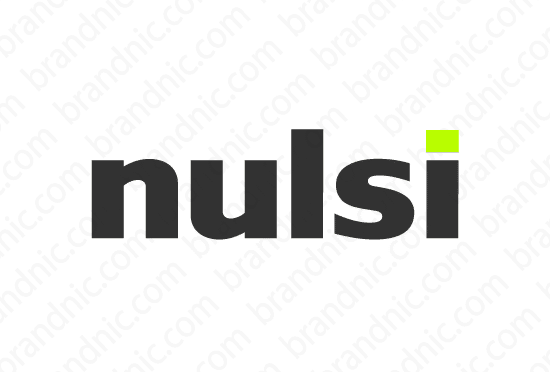 Nulsi.com - Buy this brand name at Brandnic.com