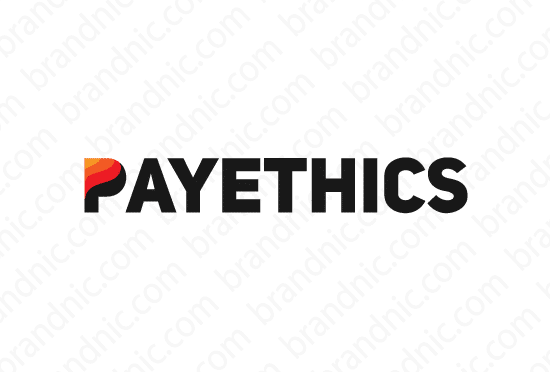 Payethics.com - Buy this brand name at Brandnic.com