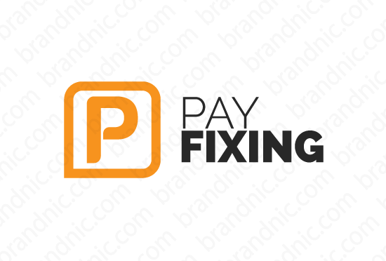 Payfixing.com - Buy this brand name at Brandnic.com