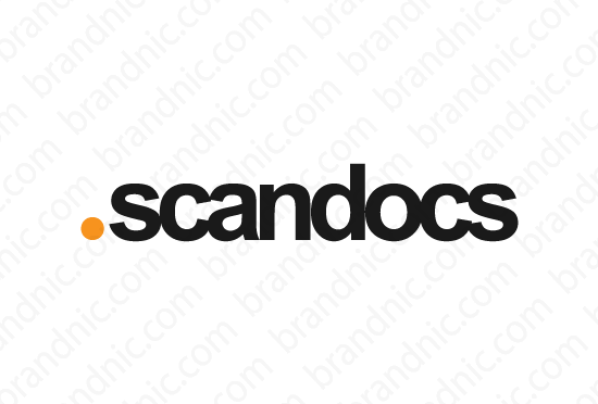 Scandocs.com - Buy this brand name at Brandnic.com