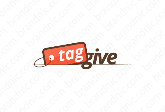 Taggive.com - Buy this brand name at Brandnic.com