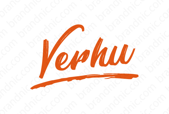 Verhu.com - Buy this brand name at Brandnic.com